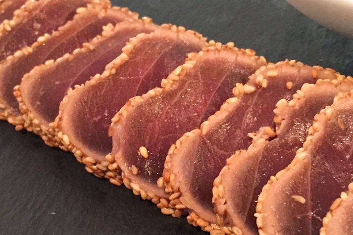 Tataki de atún de almadraba