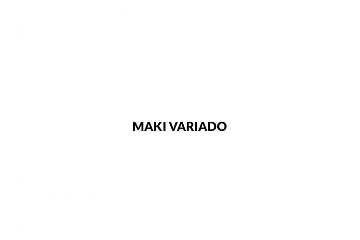 Maki variado